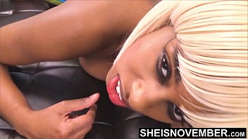 Your Hurting Me Daddy! Msnovember Super Tight Pussy Screaming From Daddy BBC Fucking Prone EbonyAss Up Arching Back, Cute Face Moaning On Sheisnovember