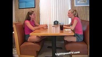 Lightspeed girls playing strip poker