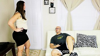 Big Ass Blackmailed MILF Madisin Fucks Son 3 min