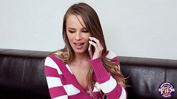 Jillian Janson call her boyfriend to fuck and cum inside her