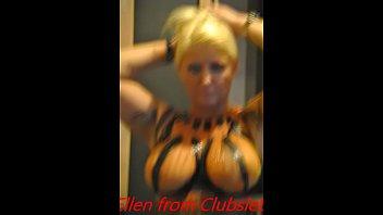 My girl Ellen from Clubke show big boobs