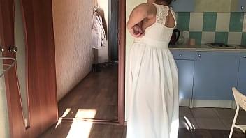 Кристина  В Свадебном Платье.mov