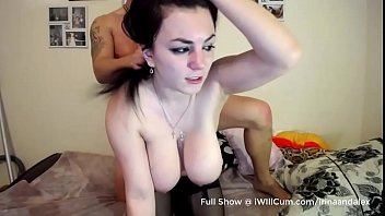 Goth PAWG Teen With Huge Tits and Ass Gets Fucked Real Good - Part 2 image