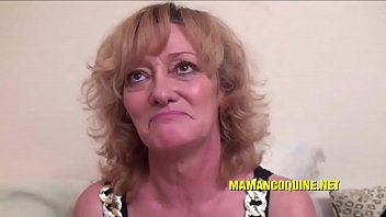 Ghislaine a mature woman who loves big cocks