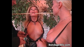 German couple play with sexy blonde girl Vorschaubild