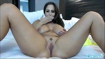 CamSoda - Ava Addams Huge Tits MILF Masturbation