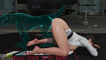 Two Sluts Babes Fuck With Monster Ghost | 3D Porn Hentai | Fallen Doll