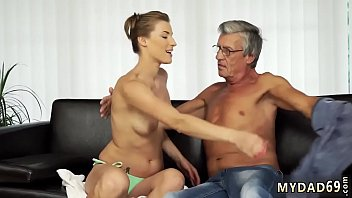 Old porn stars Sex with her boyboss´s father after swimming pool
