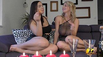Katerina Hartlova NewYear Party with Sofia Lee