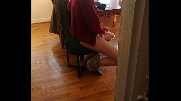 Streaming Video caught him jerking off, I spied on him watching porn till he came - XLXX.video