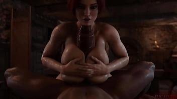 Triss Merigold 3D