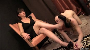 Female Foot Worship - Megan Starr and Mistress Claire