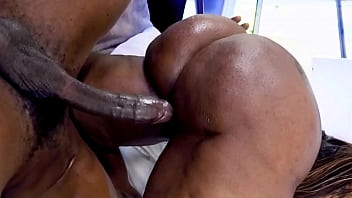 Black Milf With A Huge Ass Gets Fucked By A Huge Black Cock - Ebony Porn