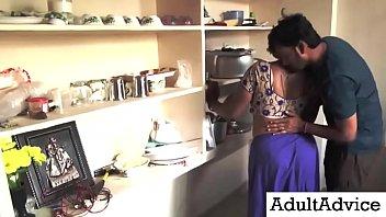 Desi Bhabhi Sex | Beautiful Wife Romance With Neighbor Young Boy Latest Kitchen Romance