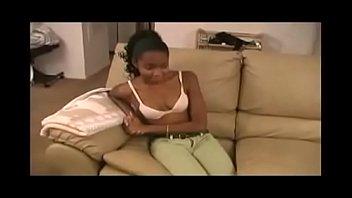 Cute teen ebony anal experience