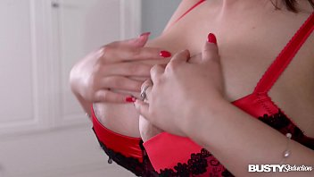 Busty Seduction With Asian Babe Tigerr Benson Titty Playing With Her 36Dd's