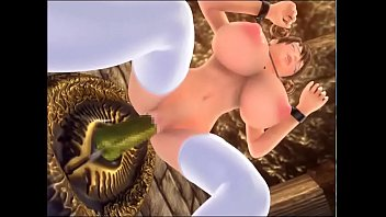 Gigantic 3d cartoon tits - 3d hentai d-fantasy 2 captured female soldier
