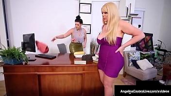 Thick Cuban Attorney Angelina Castro Strap On Dicks Milf Karen Fisher!