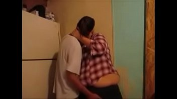 Fat teen slut Sister lexie fucks her step brother eric having amazing orgasm in kitchen
