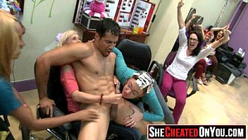 35 Pretty crazy Huge cum swapping clup party 11