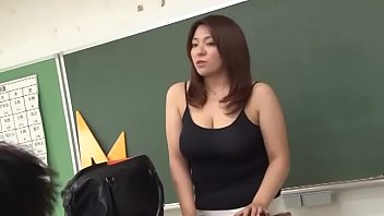 Nasty mature teacher big breasts - Big breast teacher japanese