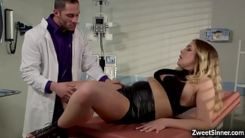 Hot and gorgeous babe Blair Williams visits to her horny doctors office to request a hot sexual intercourse.