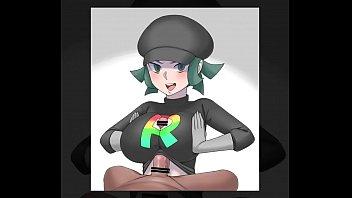 Pokemon Female Team Rainbow Rocket Grunt Henti Vorschaubild