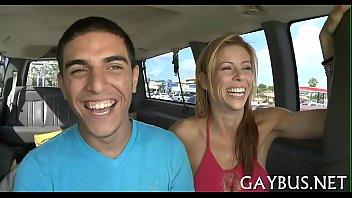 Gay man having oral sex - Perverted homosexual sex