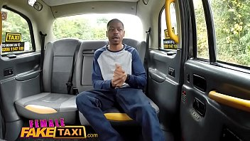Female Fake Taxi Back seat blowjob from busty blonde driver for lucky stud thumbnail