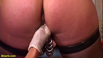Busty Mature Deep Double Anal Fisted