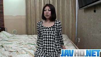 Sexy milf Junko hot titties hard fucking