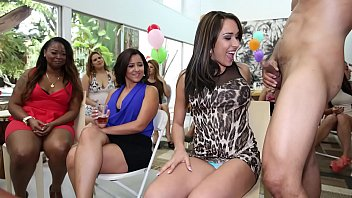 Bear lady naked - Dancing bear - surprise cfnm cock party for these horny ladies