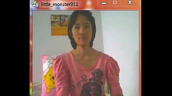 thai student on webcam->