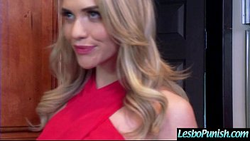 Cute Lesbo Get Punish With Dildos By Mean Lesbian (casey&mia) video-17 6 min