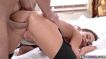 Tina Kay screams as she gets her brutally anal fucked making her asshole getting stretched out!