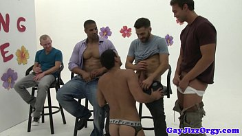 Rocco Reeds orgy at a gay dating game thumbnail