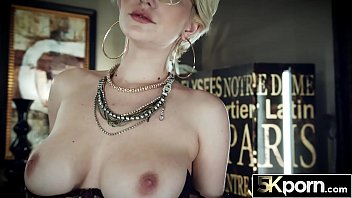 5KPORN Skye Blue Bounces Her Perfect Natural Tits 15 min