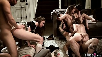 Crazy Orgy In Teen Orphanage Facility With All Members