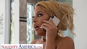 Naughty America Bridgette B. Works The Plumber's Pipe