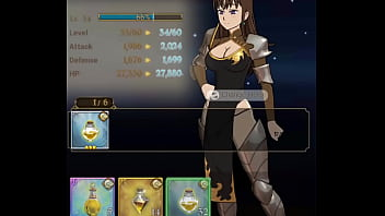 """7 Deadly Sins Grand Cross - Green """"Creation"""" Fighter Diane Level Up Portrait Animation 12 sec"""