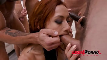 Veronica Leal hardcore 5on1 fuck session and double anal SZ2534