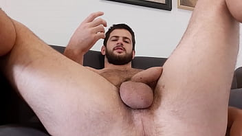 Straight handsome hairy guy stories - cock, balls and hole