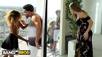 BANGBROS - Peter Green Cheats On His GF With Busty Stepmom Britney Amber
