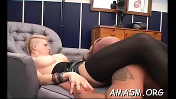 Busty delights with smothering man previous to heavy sex scenes