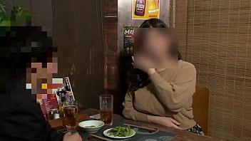 【個撮】【38歳 Lカップ 爆乳肉弾妻 に中出し】女の性欲を飛躍的に増大させる酒を出す相席系居酒屋 Sex依存禁断症状並【個人・隠し撮り】