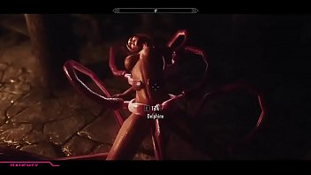 Fat tentacle sex - Skyrim estrus mod uncensored hentai tentacles