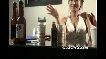Korean Amateur Tease Drinking Party Karaoke
