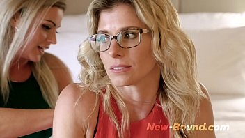 Horny Milf Step Sisters Share a Bed and Fuck on Vacation - Coco Vandi thumbnail