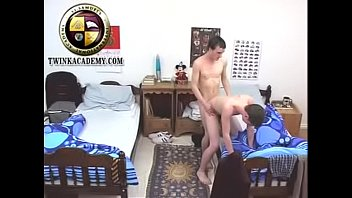 Hung Teenage British Lad Toby Gets Fucked By His Dorm Mate