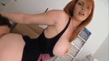 Hot Busty Redhead!!